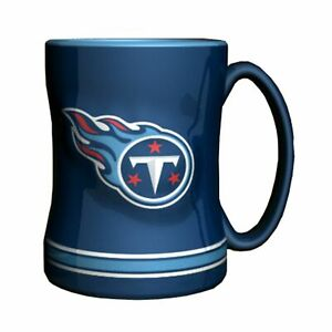 Tennessee Titans 14oz Sculpted Relief Coffee Mug NFL