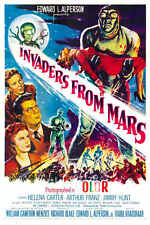 1953 Invaders From Mars Vintage Sci-Fi Movie Poster Print Style A 36x24 9Mil