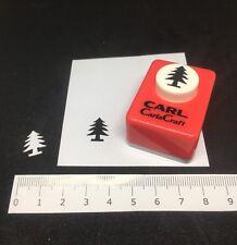 Carla Craft Christmas Tree Xmas Punch Scrapbooking Card Making Cutter Tool