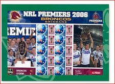 AUS0633 Masters australiskiej leagues Rugby sheet 10 stamps