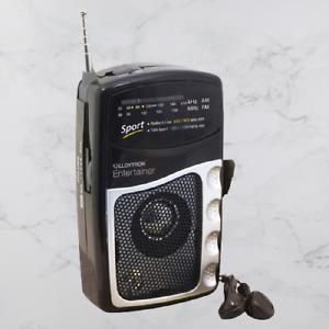 Lloytron Entertainer FM AM Radio Portable Personal Speaker Battery Powered N2201