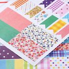 4 Sheet Scrapbook Notebook Album Diary Paper Planner Stickers Decoration Craft