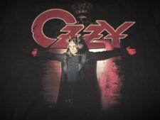 """2007 OZZY OSBOURNE """"BLACK RAIN"""" Concert Tour (MED) T-Shirt"""