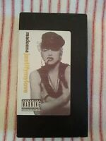 "RARE Madonna ""Justify My Love"" Video VHS"