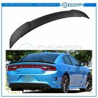 For 2011-2021 Dodge Charger Matt-black Hellcat Style SRT Rear Spoiler Wing  for sale