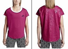 Nike Brand New Women/ Girls' Sport Fuchsia T-Shirt  Signal Speed . Size XS