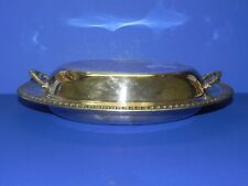Silver Plate Serving Dish and Cover_3855