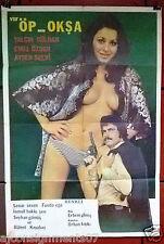 VUR ÖP OKŞA {YALÇIN GÜLHAN} Turkish Original Movie Poster 70s