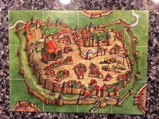 Carcassonne - Large Start Tile Tableau - Expansion Pack - New (Hans im Gluck)