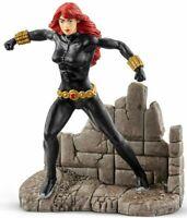 Black Widow Figurine Marvel Comics Peinte à la Main Jeux et Jouet Schleich 21505
