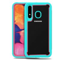 For Samsung Galaxy A20s Hybrid Dual Layer Case Shockproof Defender Bumper Cover