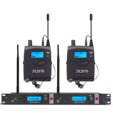 Pro Audio UHF Wireless In Ear Monitor System Professional Monioring Studio Metal