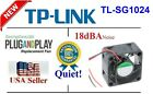 1x Quiet Sunon (18dBA) fan, a Replacement fan for TP‑LINK TL-SG1024