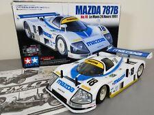 Rare TAMIYA 1/12 R/C MAZDA 787B Le Mans 1991 No 18 24 hours RM-01 PAN CAR #58555