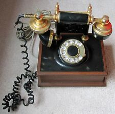 DECO-TEL PERSONAL ROTARY TELEPHONE - Works Great!