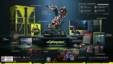 Cyberpunk 2077 Collector's Edition XBOX ONE + Protagonist V STATUE Figure Bike