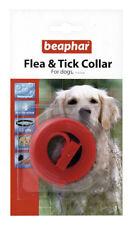 Colliers rouges en plastique pour chien