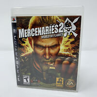 Mercenaries 2: World in Flames Sony PlayStation 3 PS3 Game Complete Tested