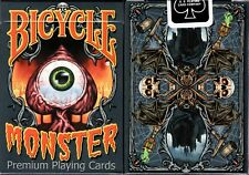 Monster Bicycle Playing Cards Poker Size Deck USPCC Custom Limited Edition New