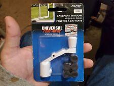 Prime-Line Products H 3962 Universal Spline Folding Casement Handle, White