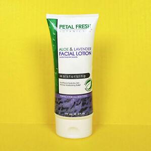 Petal Fresh Aloe Lavender Vitamin C Face Lotion Moisturizing Vegan Essential Oil