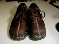 Dr. Doc Martens  Men's US 5, Brown Leather Casual Oxfords AW004 #9830 ENGLAND