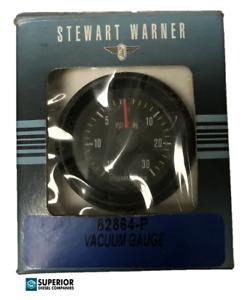 Stewart Warner Mechanical Turbo Boost /Vacuum Gauge 82864-P