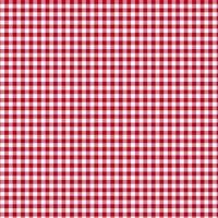 Baumwollstoff Meterware 0,5lfm 100% Baumwolle Decke Vichy Karo Rot Weiß kariert