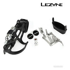 Lezyne FLOW STORAGE Water Bottle Cage Bicycle Multi-Tool CO2 Inflator LOADED KIT