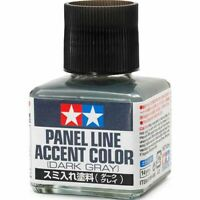 TAMIYA 87199 Panel Line Accent Color Dark Gray 40ml PLASTIC MODEL KIT TOOLS NEW