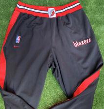 Vintage Nike Portland Trailblazers Break Away Warm Up Pants Men's XXL Black