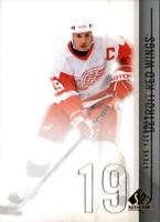 2010-11 SP Authentic Hockey #57 Steve Yzerman Detroit Red Wings
