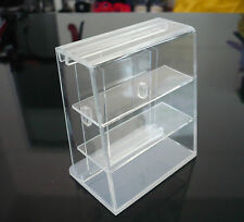 Small Clear Acrylic Table Top Display Unit Dollhouse Miniatures Supply Deco