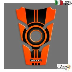 Tank Pad Sticker Resin Protection 3D Orange For BMW F 800 R 2009-2011