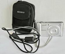Sony Cyber-shot DSC-W800 20.1MP Compact Digital Camera - Silver