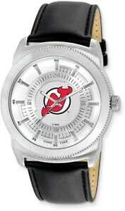 Mens NHL New Jersey Devils Vintage-Style Watch