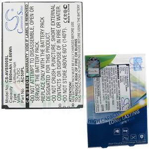Batterie AVS500SL X-Longer ARCHOS 50 50 Helium 4G 50 Platinum AC50PL Lite
