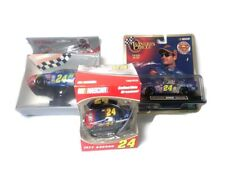 Nascar Collectible Lot of 3 Jeff Gordon 1/43 Scale Die Cast Ornament Night Light