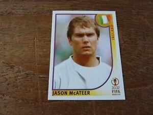 Jason McAteer - Ireland - Panini Korea Japan 2002 Football Sticker - Near Mint!