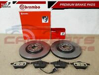 AUDI S3 TT SEAT IBIZA LEON VW BORA GOLF GENUINE 312mm BREMBO BRAKE DISCS PADS