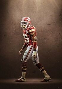 JAMAAL CHARLES Poster [Multiple Sizes] NFL Football 01A