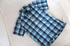 MAUL SPORT Herren Hemd Funktionshemd kurzarm blau MegaDrySystem Gr S 46 NEU M43