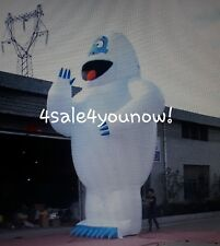 30' FOOT INFLATABLE BUMBLE THE ABOMINABLE SNOWMAN RUDOLPH CHRISTMAS CUSTOM MADE!