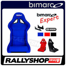 BIMARCO Seat FIA Racing EXPERT Blue Rally Race fixing brakets CHEAP DELIVERY !