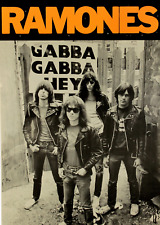 vintage Music film  poster reproduction. Rock /& Roll high school The Ramones