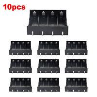 Rectangle In Parallel 10pcs 4 x 3.7V 18650 Battery Holder Case Black Holder EM5