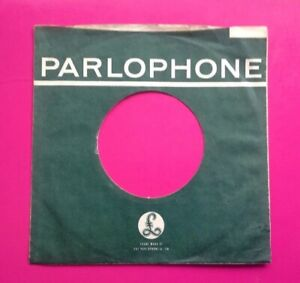 S2 Ten Replica/Copies Of Original Used Parlophone Label, Company Record Sleeve