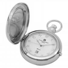 Charles-Hubert- Paris 3851 Quartz Picture Frame Pocket Watch