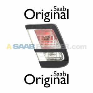 SAAB 9-3 Left Trunk Mounted Tail Light NEW ICE BLOCK 03-14 GENUINE OEM 12770157