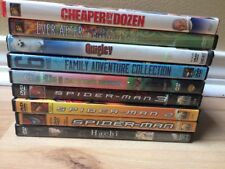 DVD Lot 9 Spiderman Trilogy Family Movie Night Quigley Hachi Chocolate Factory
